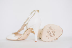 Wedding bride shoes