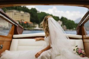 Tremezzo Wedding boat