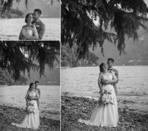 como lake wedding photography