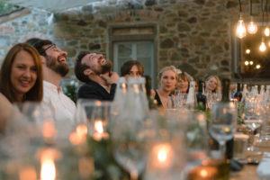 British wedding in Tuscany