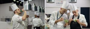 chefs and food in Italy